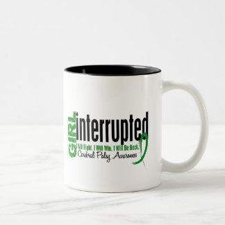 Girl Interrupted 1 Cerebral Palsy Two-Tone Coffee Mug