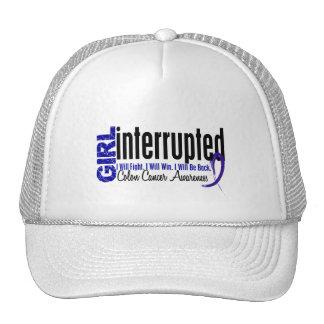 Girl Interrupted 1 Colon Cancer Trucker Hat