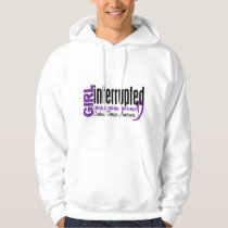 Girl Interrupted 1 Crohn's Disease Hoodie
