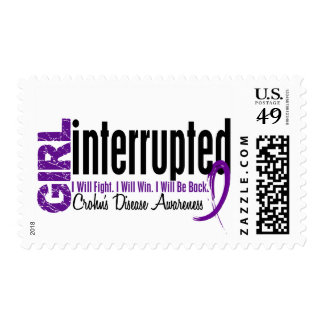 Girl Interrupted 1 Crohn's Disease Postage