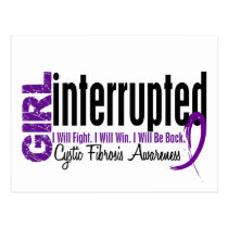Girl Interrupted 1 Cystic Fibrosis Postcard