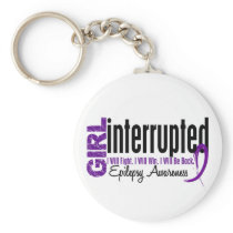 Girl Interrupted 1 Epilepsy Keychain