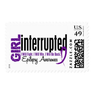 Girl Interrupted 1 Epilepsy Postage Stamp