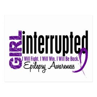 Girl Interrupted 1 Epilepsy Postcard