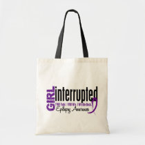 Girl Interrupted 1 Epilepsy Tote Bag