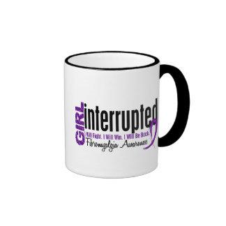 Girl Interrupted 1 Fibromyalgia Ringer Coffee Mug