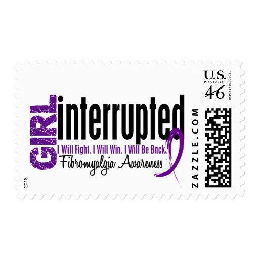 Girl Interrupted 1 Fibromyalgia Stamp