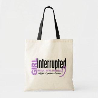Girl Interrupted 1 Hodgkin's Lymphoma Tote Bag