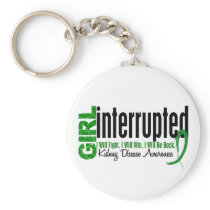 Girl Interrupted 1 Kidney Disease Keychain