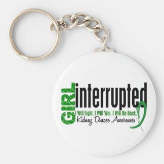 Girl Interrupted 1 Kidney Disease Keychain