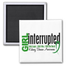 Girl Interrupted 1 Kidney Disease Magnet