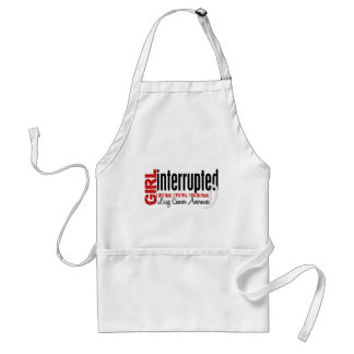 Girl Interrupted 1 Lung Cancer Adult Apron