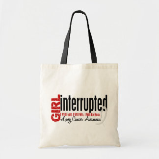 Girl Interrupted 1 Lung Cancer Tote Bag
