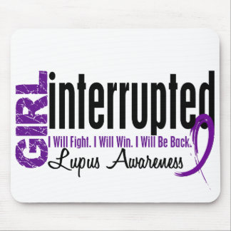 Girl Interrupted 1 Lupus Mouse Pad