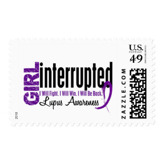 Girl Interrupted 1 Lupus Postage Stamp