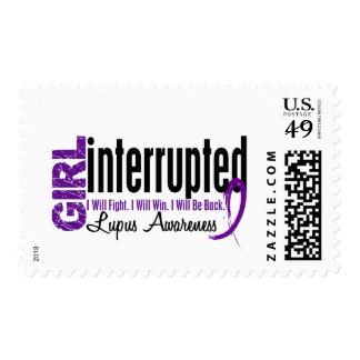 Girl Interrupted 1 Lupus Postage Stamp