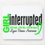Girl Interrupted 1 Lyme Disease Mousepad