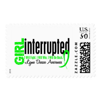 Girl Interrupted 1 Lyme Disease Postage