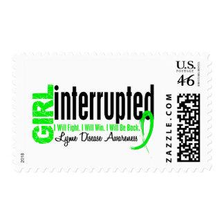 Girl Interrupted 1 Lyme Disease Postage Stamp