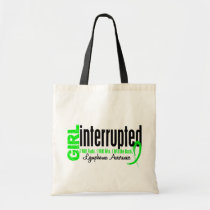 Girl Interrupted 1 Lymphoma Tote Bag