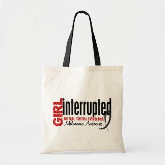 Girl Interrupted 1 Melanoma Budget Tote Bag