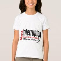 Girl Interrupted 1 Melanoma T-Shirt