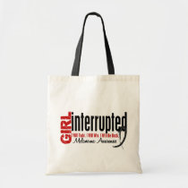 Girl Interrupted 1 Melanoma Tote Bag