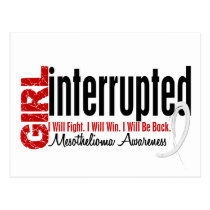 Girl Interrupted 1 Mesothelioma Postcard