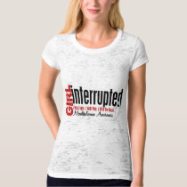 Girl Interrupted 1 Mesothelioma T-Shirt