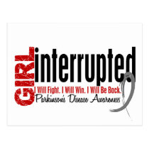 Girl Interrupted 1 Parkinsons Disease Postcard