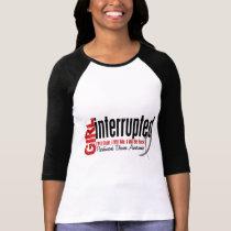 Girl Interrupted 1 Parkinsons Disease T-Shirt