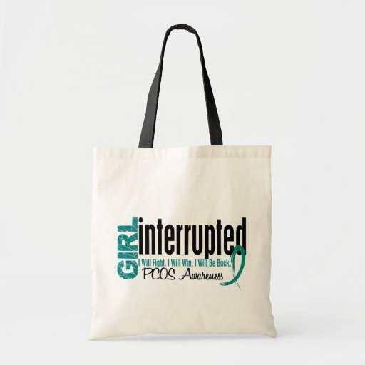 Girl Interrupted 1 PCOS Budget Tote Bag