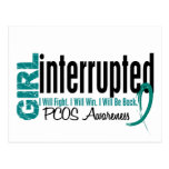 Girl Interrupted 1 PCOS Post Cards
