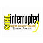 Girl Interrupted 1 Sarcoma Postcard