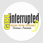 Girl Interrupted 1 Sarcoma Stickers
