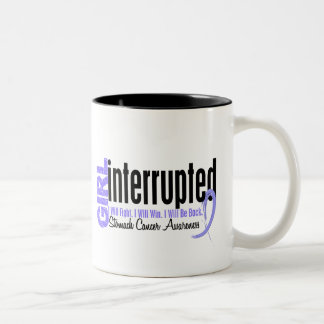 Girl Interrupted 1 Stomach Cancer Two-Tone Coffee Mug