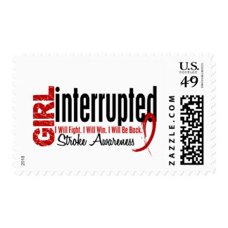 Girl Interrupted 1 Stroke Stamps