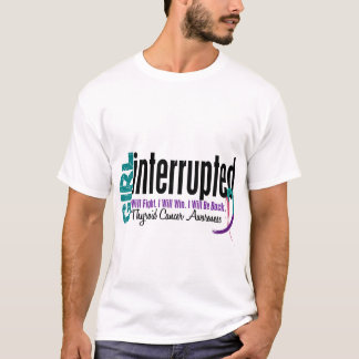Girl Interrupted 1 Thyroid Cancer T-Shirt