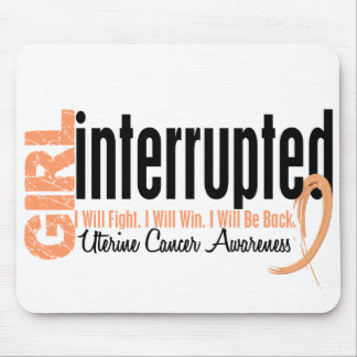 Girl Interrupted 1 Uterine Cancer Mouse Pad