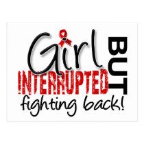 Girl Interrupted 2 AIDS Postcard