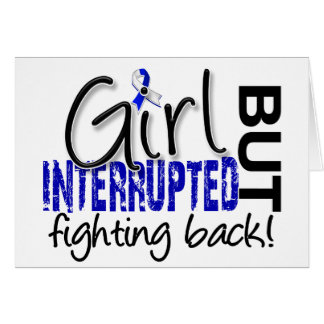 Girl Interrupted 2 ALS Greeting Card