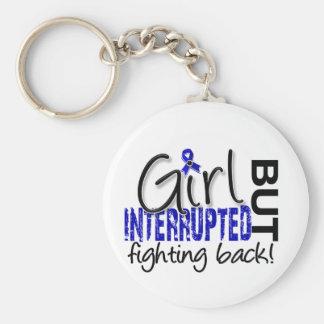 Girl Interrupted 2 Ankylosing Spondylitis Basic Round Button Keychain