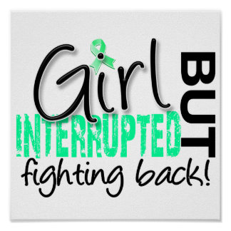 Girl Interrupted 2 Celiac Disease Poster