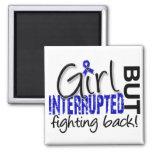 Girl Interrupted 2 CFS 2 Inch Square Magnet