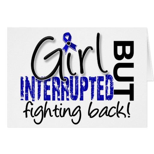Girl Interrupted 2 CFS Greeting Card