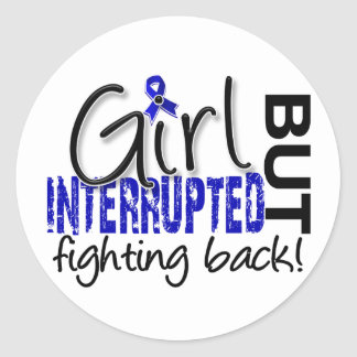 Girl Interrupted 2 CFS Stickers