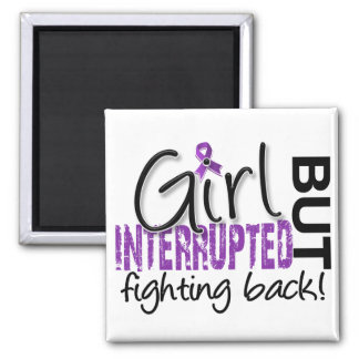 Girl Interrupted 2 Chiari Malformation 2 Inch Square Magnet