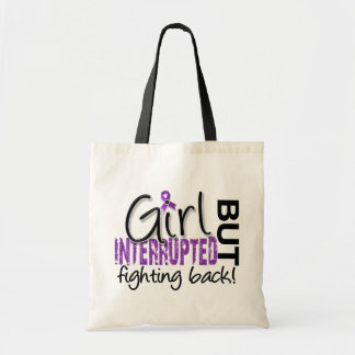 Girl Interrupted 2 Chiari Malformation Canvas Bags