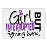 Girl Interrupted 2 Chiari Malformation Greeting Card