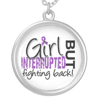 Girl Interrupted 2 Chiari Malformation Silver Plated Necklace